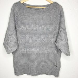 MICHAEL KORS Dolman Sleeve Cable Knit Sweater